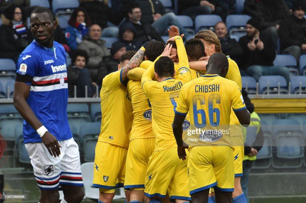 UC Sampdoria v Frosinone Calcio - Serie A : News Photo