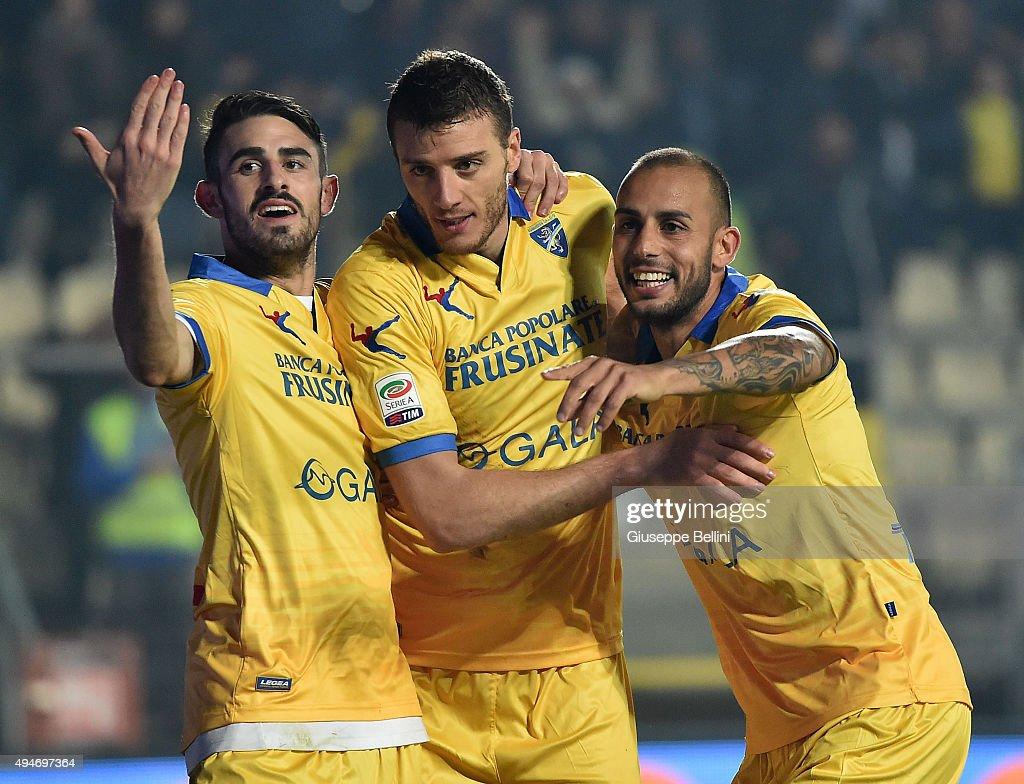 Frosinone Calcio v Carpi FC - Serie A : ニュース写真