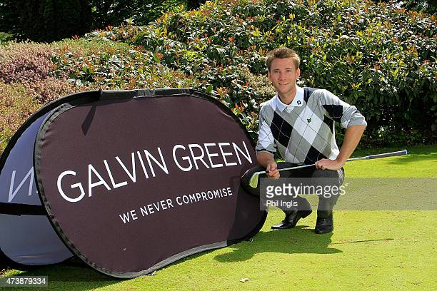 Daniel Clark of Remedy Oak Golf Club poses for photographs during the Galvin Green PGA Assistants' Championship West Region Qualifier at Exeter Golf...