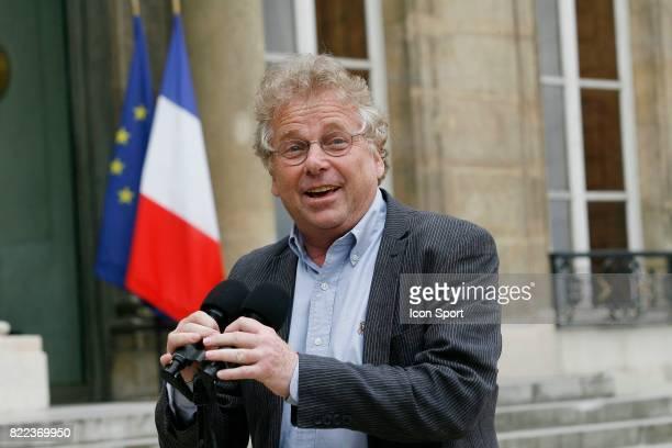 Daniel COHN BENDIT President du groupe Verts / Ale au parlement Europeen Rencontre avec Nicolas Sarkozy Palais de l Elysee Paris