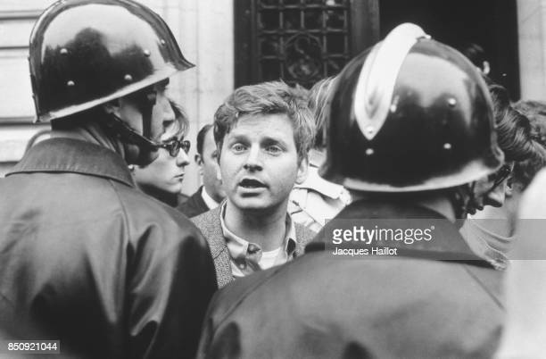 Daniel CohnBendit during the evacuation of the Sorbonne