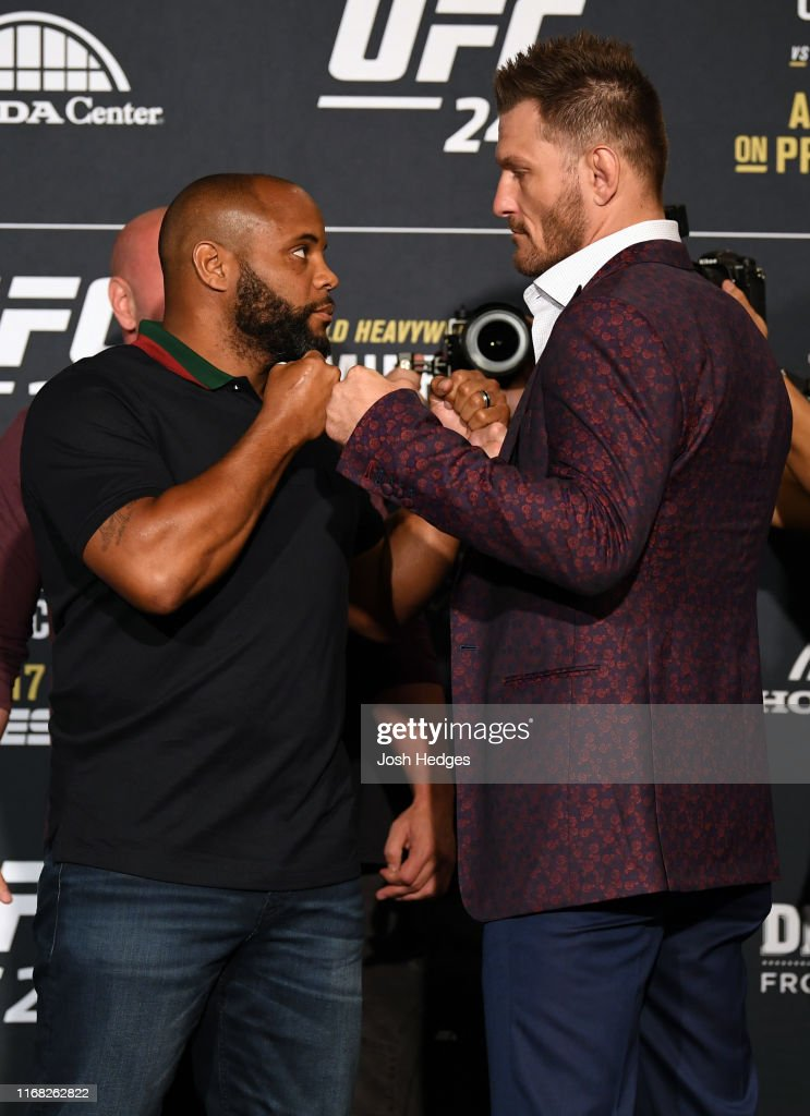 UFC 241 Cormier v Miocic 2: Ultimate Media Day : News Photo
