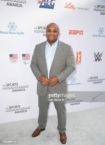 Daniel Cormier attends the 4th Annual Sports Humanitarian Awards at The Novo by Microsoft on July 17 2018 in Los Angeles California