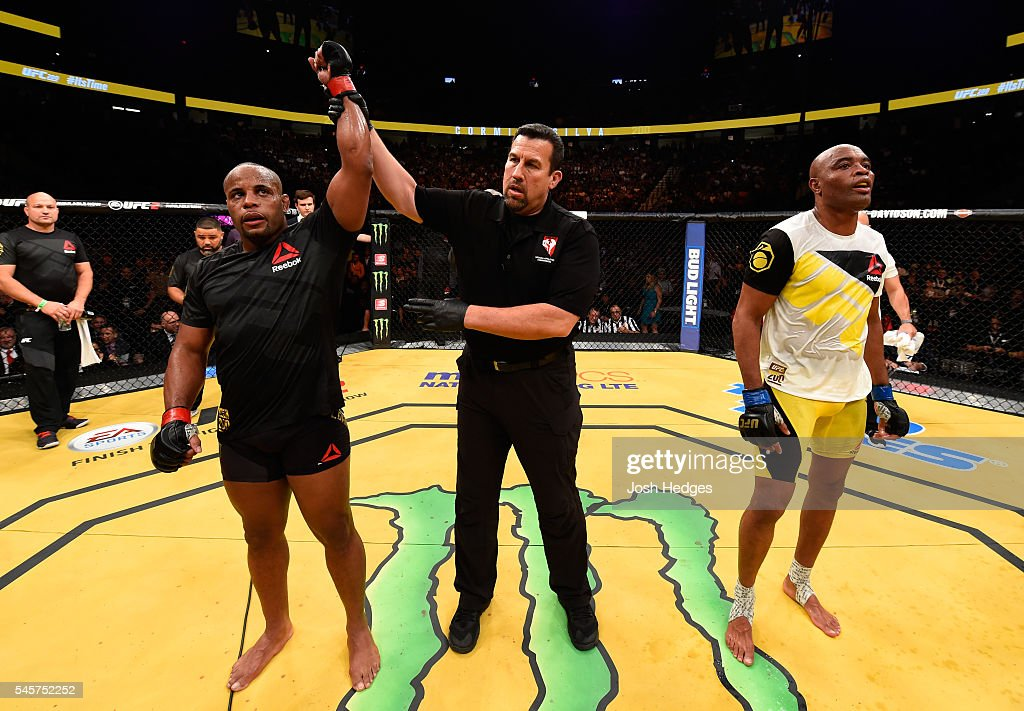 UFC 200: Cormier v Silva : News Photo