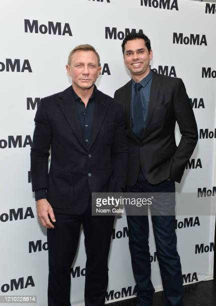 Daniel Craig and Raj Roy attend MoMA's Film Series In Character Daniel Craig at Museum of Modern Art on March 03 2020 in New York City