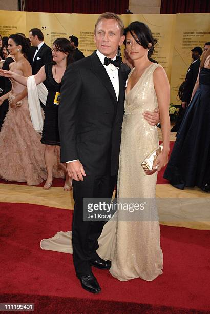 Daniel Craig and Satsuki Mitchell during The 79th Annual Academy Awards Arrivals at Kodak Theatre in Hollywood California United States