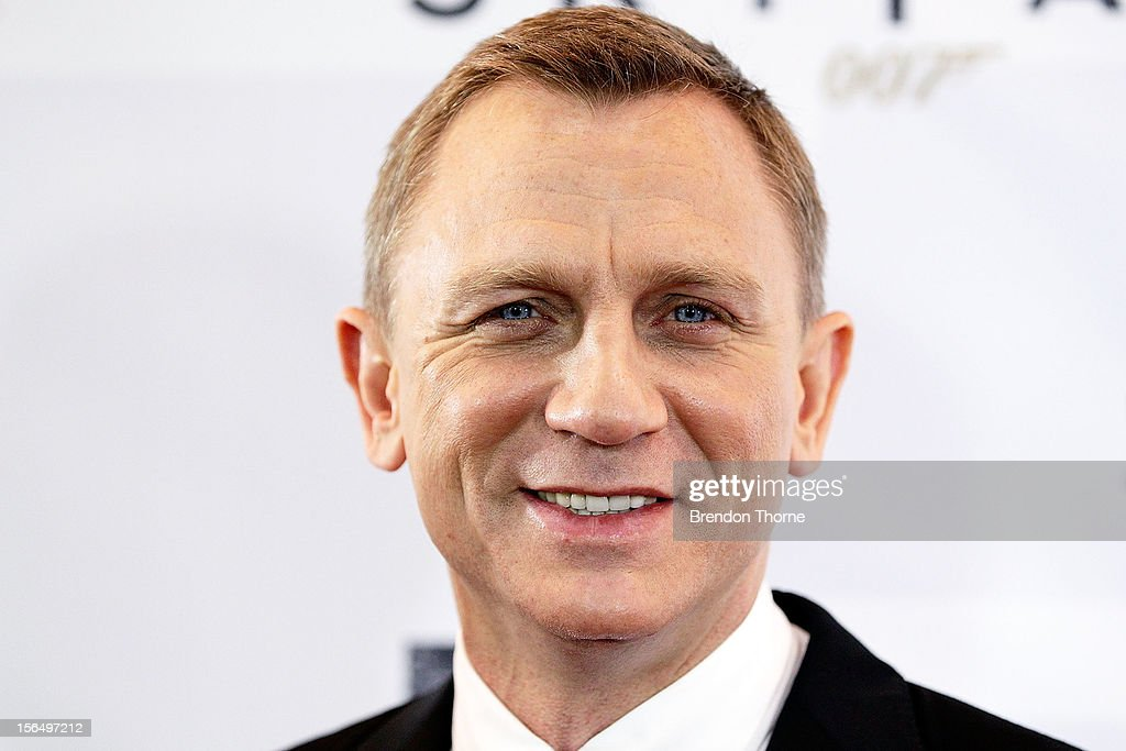 Daniel Craig arrives at the 'Skyfall' Australian premiere at the State Theatre on November 16, 2012 in Sydney, Australia.