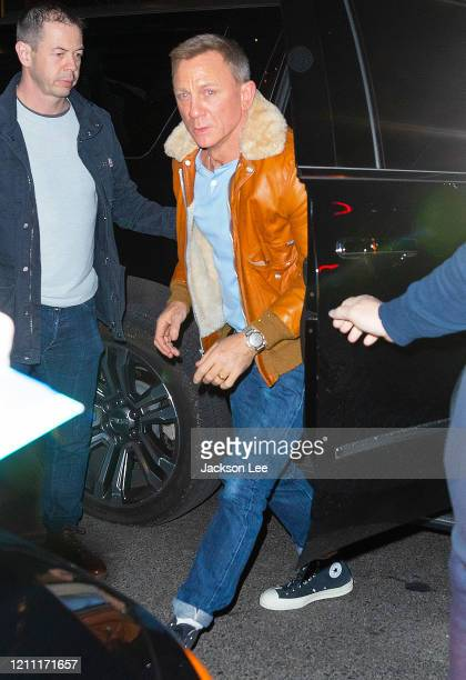 Daniel Craig at SNL Afterparty on March 08 2020 in New York City