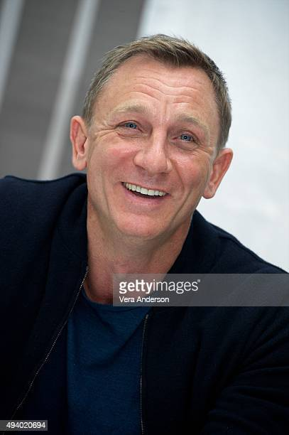 Daniel Craig at the 'Spectre' Press Conference at the Corinthia Hotel London on October 23 2015 in London England