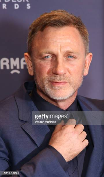 Daniel Craig attend the 2017 Drama Desk Awards at Town Hall on June 4 2017 in New York City