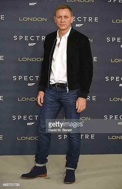 Daniel Craig attends a photocall for Spectre at Corinthia Hotel London on October 22 2015 in London England