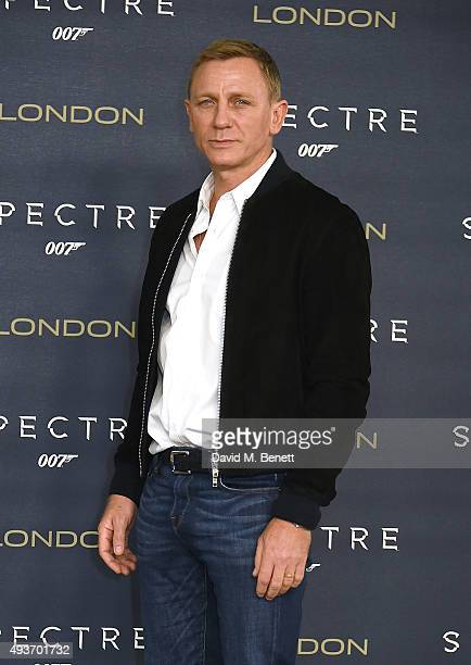 Daniel Craig attends a photocall for 'Spectre' at Corinthia Hotel London on October 22 2015 in London England