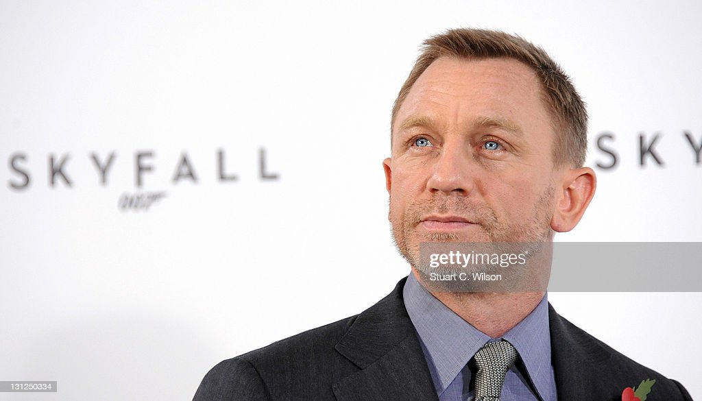 Daniel Craig attends a photocall with cast and filmmakers to mark the start of production which is due to commence on the 23rd Bond Film 'Skyfall' at Massimo Restaurant & Oyster Bar on November 3, 2011 in London, United Kingdom.