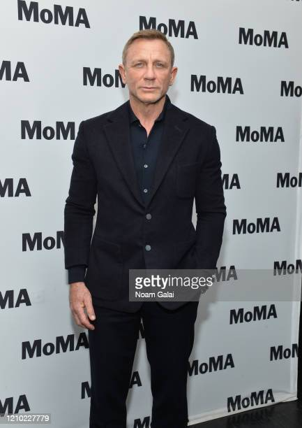 Daniel Craig attends MoMA's Film Series In Character Daniel Craig at Museum of Modern Art on March 03 2020 in New York City