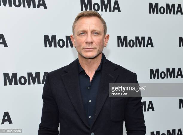 "Daniel Craig attends MoMA's Film Series ""In Character: Daniel Craig"" at Museum of Modern Art on March 03, 2020 in New York City."