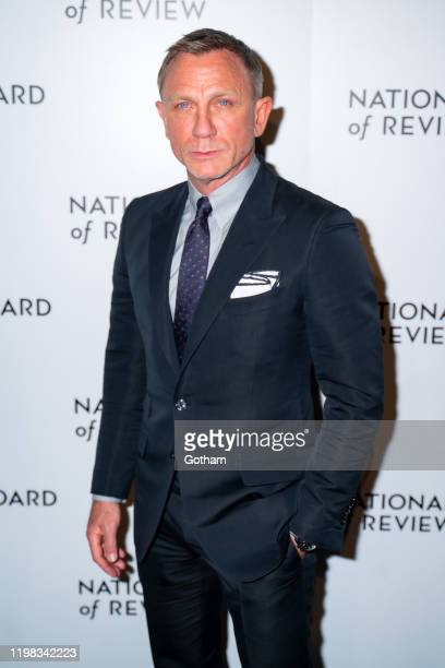 Daniel Craig attends the 2020 National Board of Review Gala at Cipriani 42nd Street on January 08 2020 in New York City