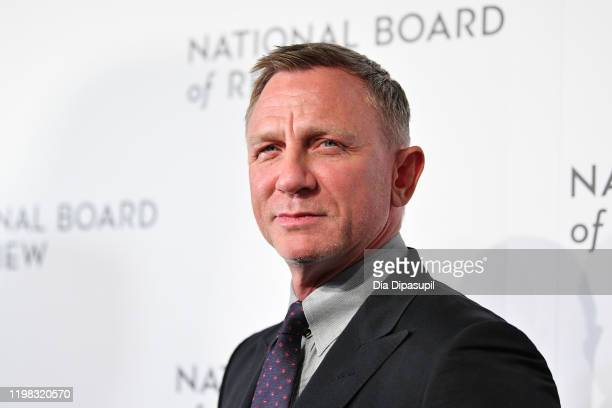Daniel Craig attends the 2020 National Board Of Review Gala on January 08 2020 in New York City