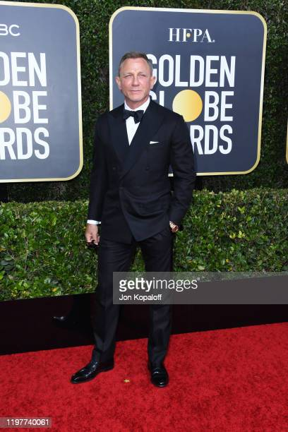 Daniel Craig attends the 77th Annual Golden Globe Awards at The Beverly Hilton Hotel on January 05 2020 in Beverly Hills California