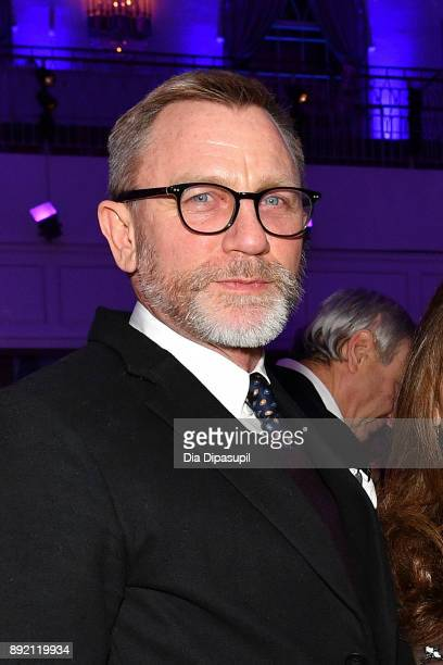 Daniel Craig attends the Museum of the Moving Image Salute to Annette Bening at 583 Park Avenue on December 13 2017 in New York City