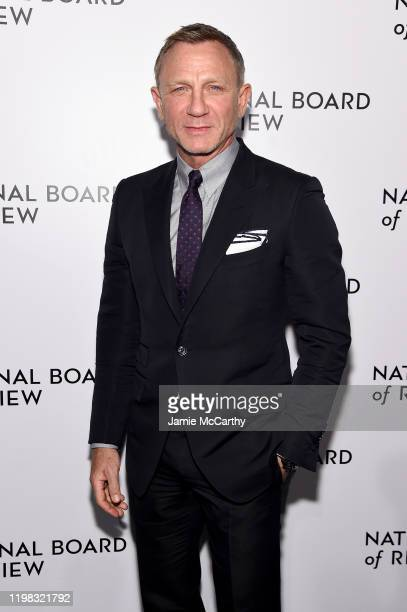 Daniel Craig attends The National Board of Review Annual Awards Gala at Cipriani 42nd Street on January 08 2020 in New York City