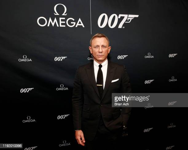 Daniel Craig attends the Omega Bond Watch Unveiling on December 04 2019 in New York City