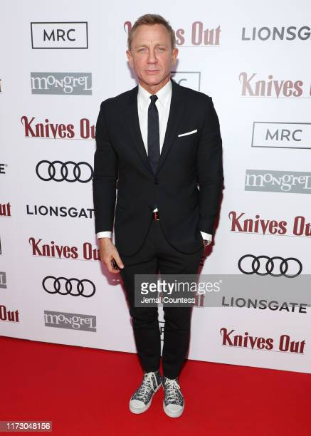 Daniel Craig attends the postscreening event for Knives Out hosted by Audi Canada Lionsgate Mongrel Media And MRC at Patria on September 07 2019 in...