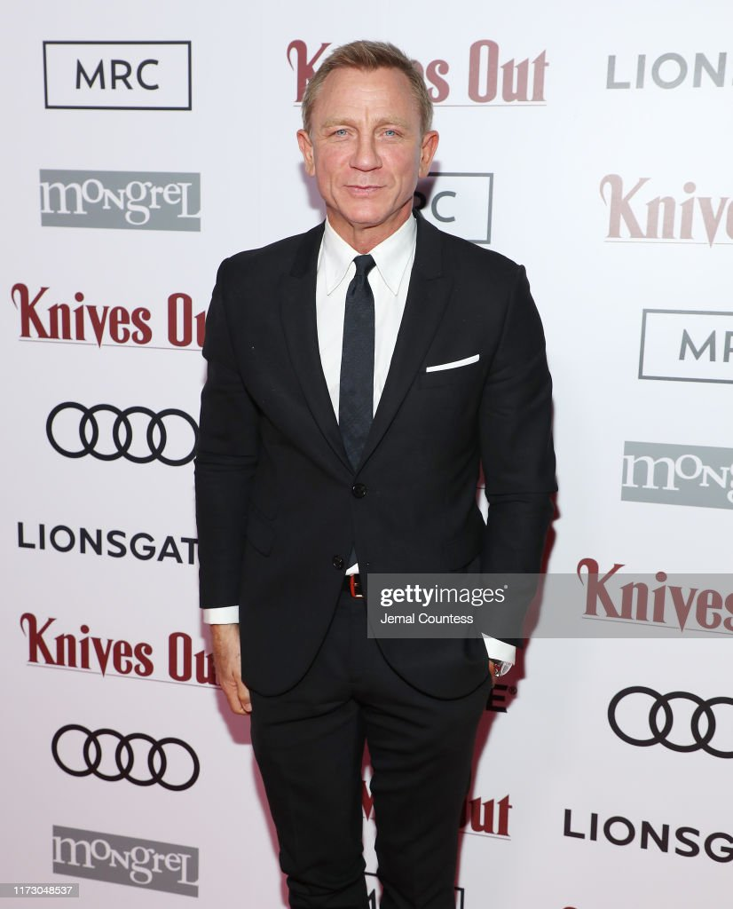 """Audi Canada, Lionsgate, Mongrel Media And MRC Co-Host The Post-Screening Event For """"Knives Out"""" During The Toronto International Film Festival : News Photo"""