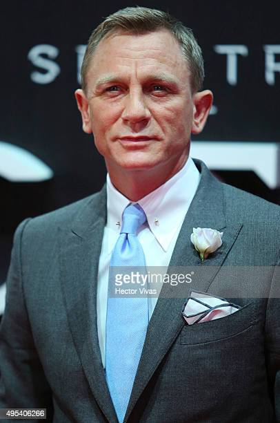 Daniel Craig attends the red carpet of the 'Spectre' film Premiere at Auditorio Nacional on November 02 2015 in Mexico City Mexico