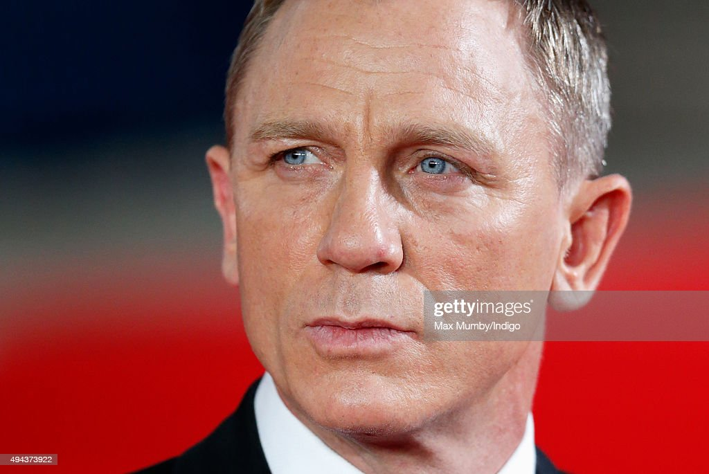 Daniel Craig attends the Royal Film Performance of 'Spectre' at The Royal Albert Hall on October 26, 2015 in London, England.