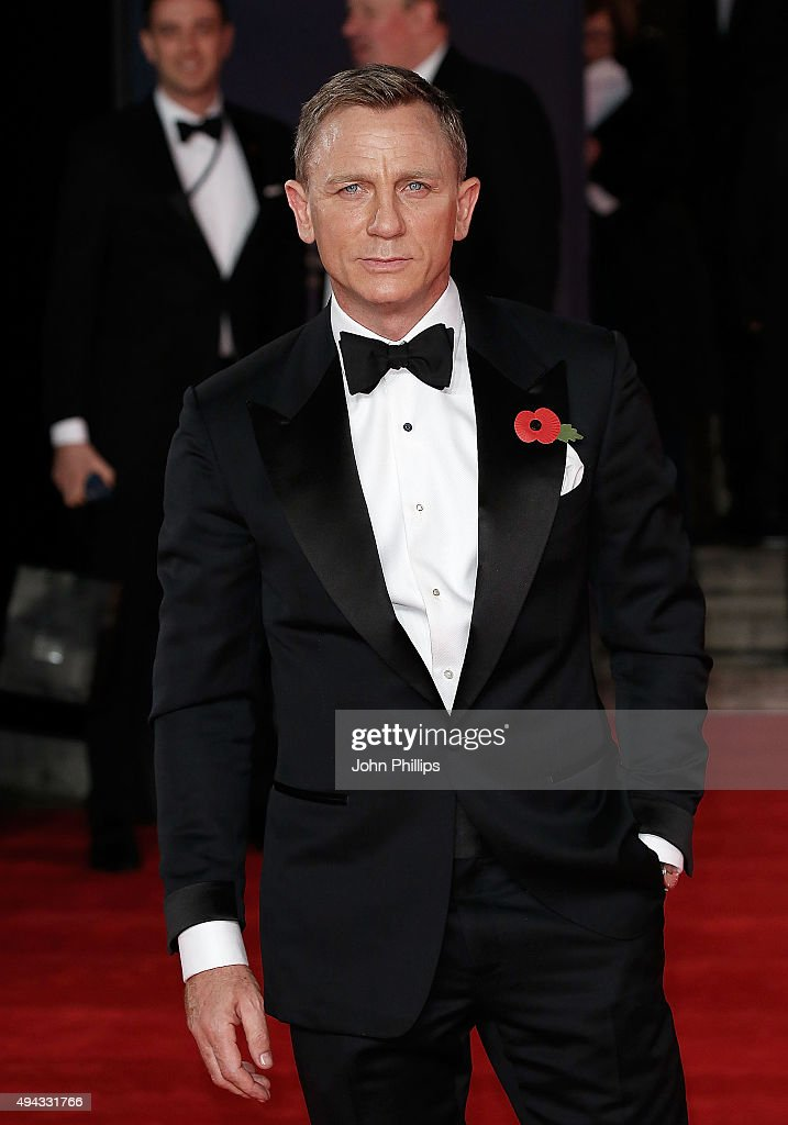 Daniel Craig attends the Royal Film Performance of 'Spectre'at Royal Albert Hall on October 26, 2015 in London, England.