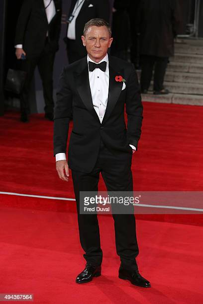 Daniel Craig attends the Royal World Premiere of Spectre at Royal Albert Hall on October 26 2015 in London England