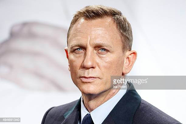 Daniel Craig attends the 'Spectre' German Premiere on October 28 2015 in Berlin Germany