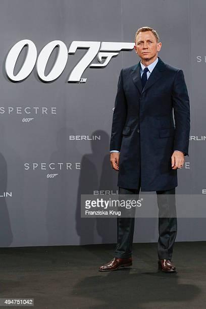 Daniel Craig attends the Spectre' German Premiere on October 28 2015 in Berlin Germany