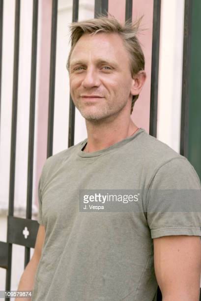 Daniel Craig during 2004 Venice Film Festival 'Enduring Love' Daniel Craig and Rhys Ifans Portraits in Venice Lido Italy