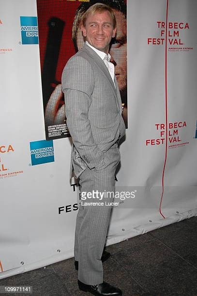 Daniel Craig during 4th Annual Tribeca Film Festival Layer Cake Premiere at Regal Cinemas in New York NY United States
