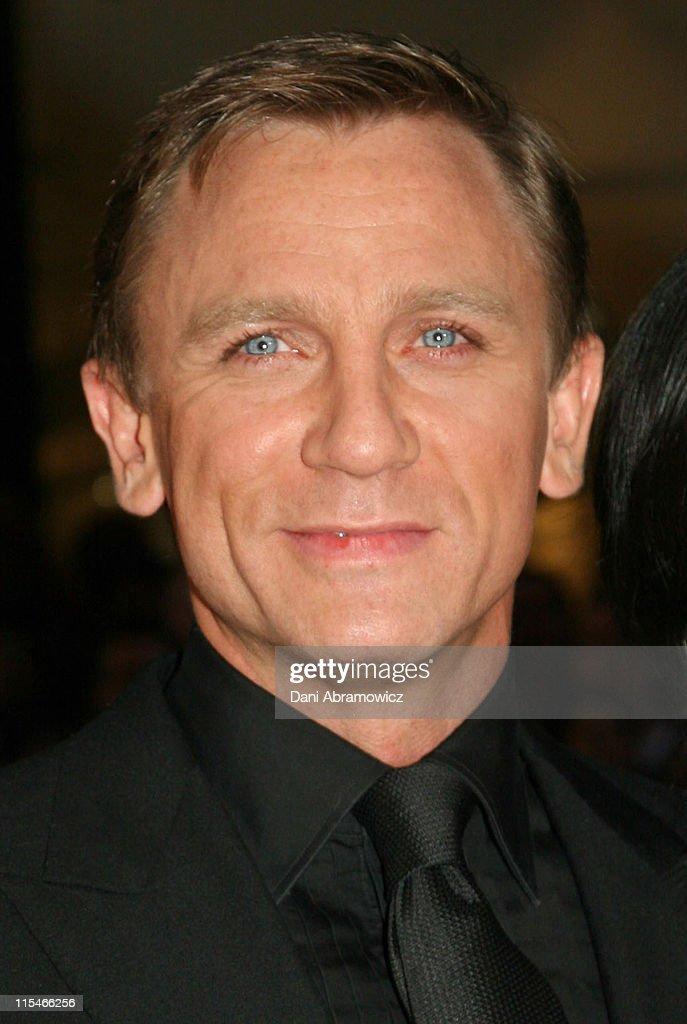 Daniel Craig during Casino Royale Australian Premiere - Red Carpet at State Theatre in Sydney, NSW, Australia.