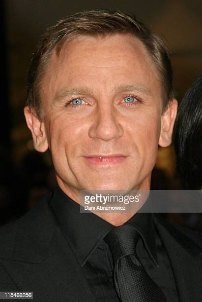 Daniel Craig during Casino Royale Australian Premiere Red Carpet at State Theatre in Sydney NSW Australia