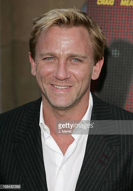 Daniel Craig during 'Layer Cake' Los Angeles Premiere at The Egyptian Theatre in Hollywood California United States
