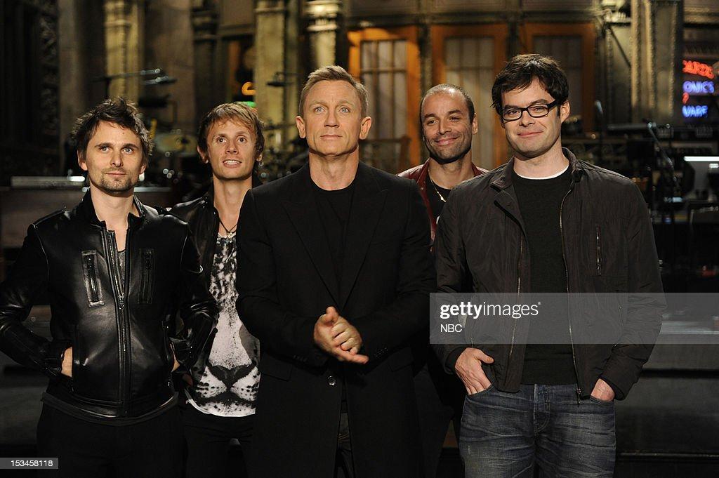 "NBC's ""Saturday Night Live"" Daniel Craig & Muse Promo"