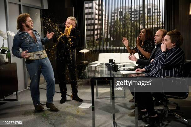 LIVE Daniel Craig Episode 1782 Pictured Beck Bennett as Franklin Hughes host Daniel Craig as himself Ego Nwodim as Margie Mikey Day as Mr Johnson and...