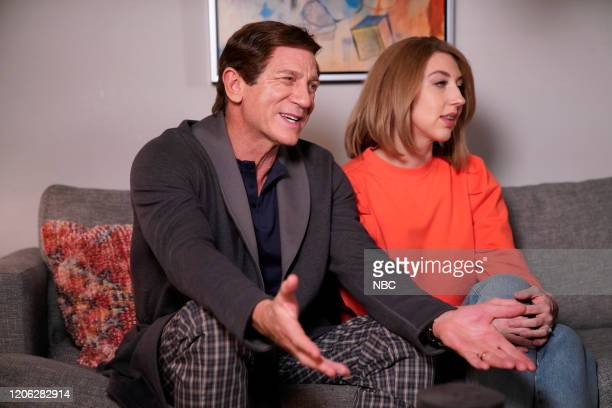 LIVE Daniel Craig Episode 1782 Pictured Host Daniel Craig and Heidi Gardner during the On The Couch sketch on Saturday March 7 2020