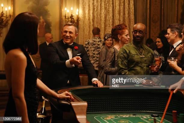 LIVE Daniel Craig Episode 1782 Pictured Host Daniel Craig during the James Bond Scene sketch on Saturday March 7 2020