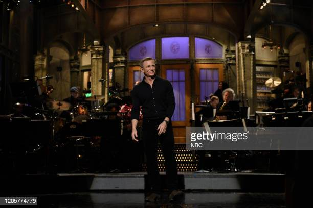 LIVE Daniel Craig Episode 1782 Pictured Host Daniel Craig during the monologue on Saturday March 7 2020