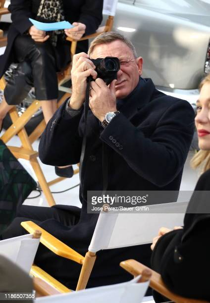 Daniel Craig is seen at Times Square on December 04 2019 in New York City