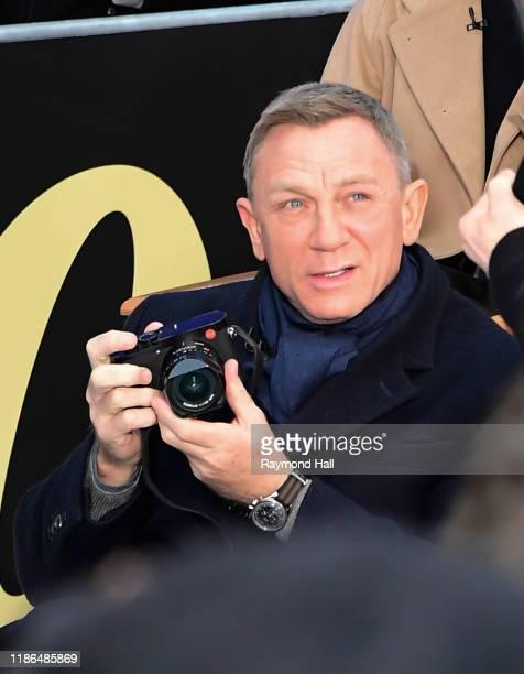 Daniel Craig is seen outside Good Morning America on December 4 2019 in New York City