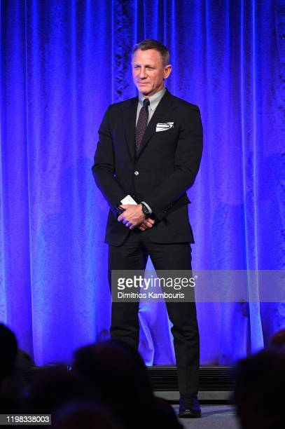 Daniel Craig onstage during The National Board of Review Annual Awards Gala at Cipriani 42nd Street on January 08 2020 in New York City