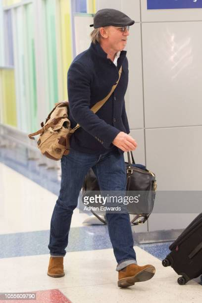 Daniel Craig seen at JFK airport on October 16 2018 in New York City
