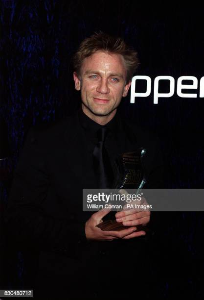Daniel Craig with his best actor award for the film Some Voices at the British Independent Film Awards held at the Cafe Royal in London