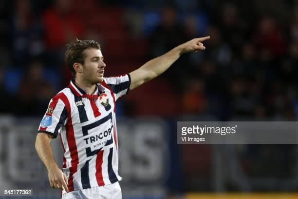 Daniel Crowley of Willem II during the Dutch Eredivisie match between Willem II Tilburg and ADO Den Haag at Koning Willem II stadium on September 09...