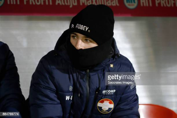 Daniel Crowley of Willem II during the Dutch Eredivisie match between Willem II v Heracles Almelo at the Koning Willem II Stadium on December 2 2017...